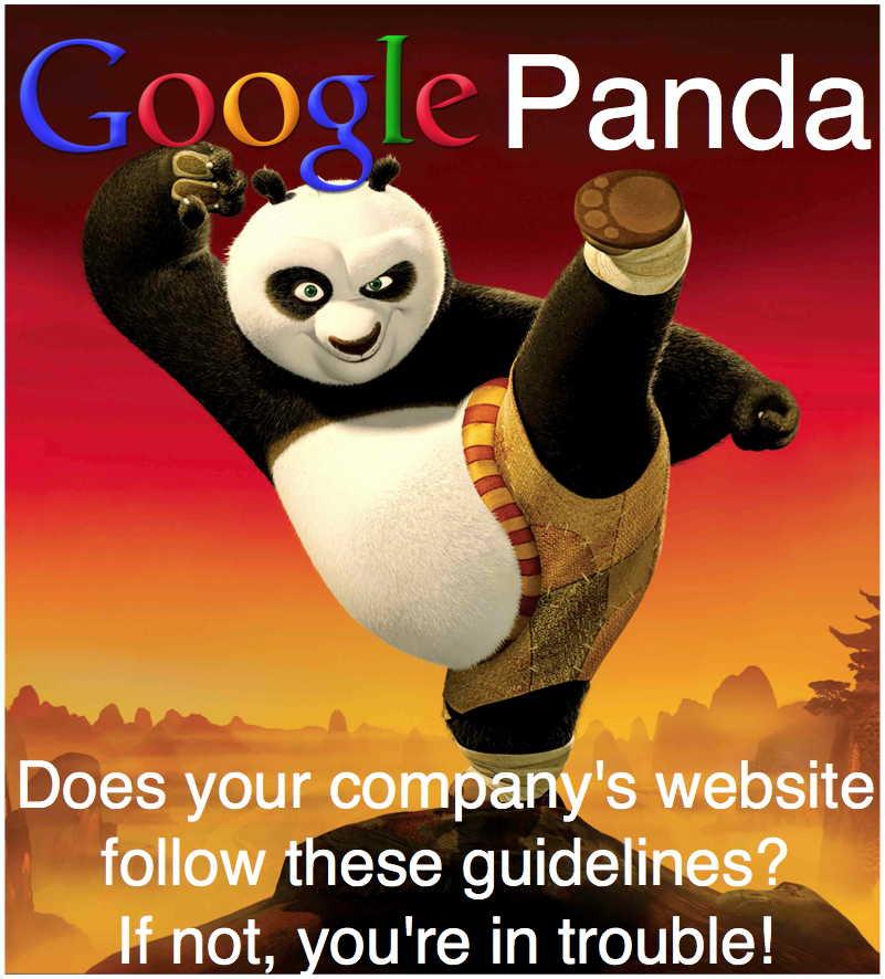 Google Panda Guidelines