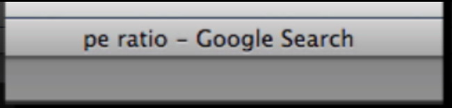The Title Tag In Your Browser Menu Bar