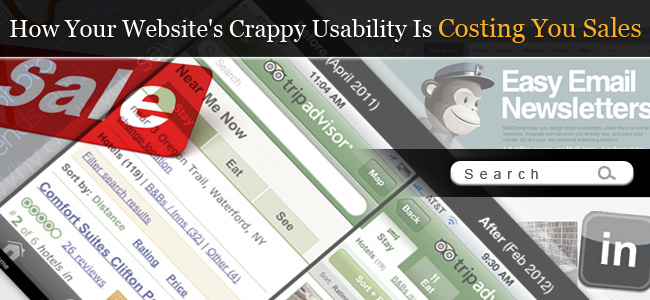 How Your Website's Crappy Usability Is Costing You Sales